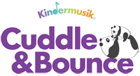 Kindermusik Cuddle and Bounce logo